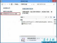 关闭和删除windows系统不用的功能如media player播放器等